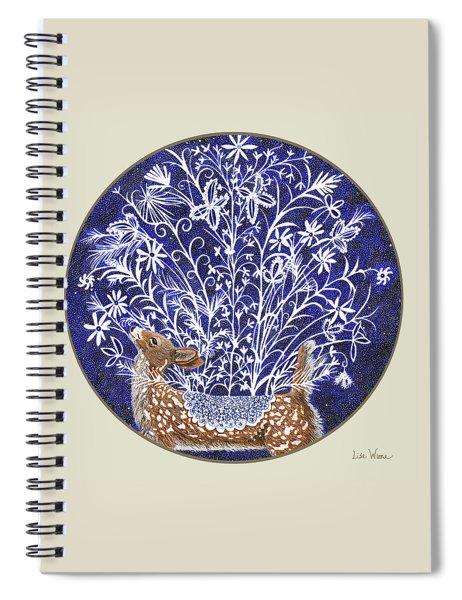 Blue Period Art Featuring A Fawn Spiral Notebook