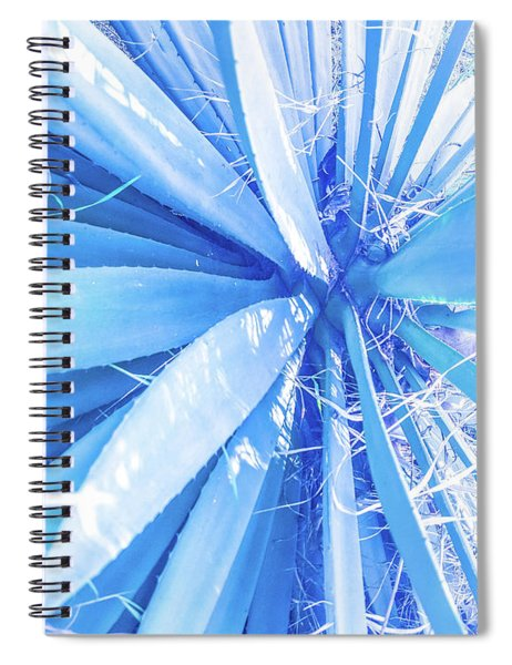 Blue Rays Spiral Notebook