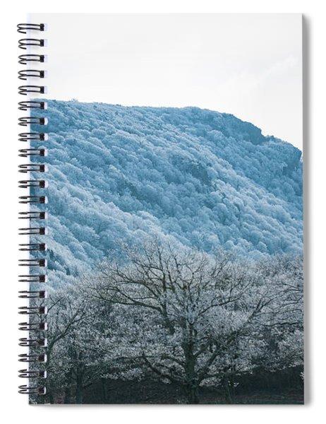 Blue Ridge Mountain Top Spiral Notebook