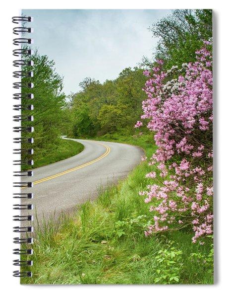 Blue Ridge Parkway In Bloom Spiral Notebook