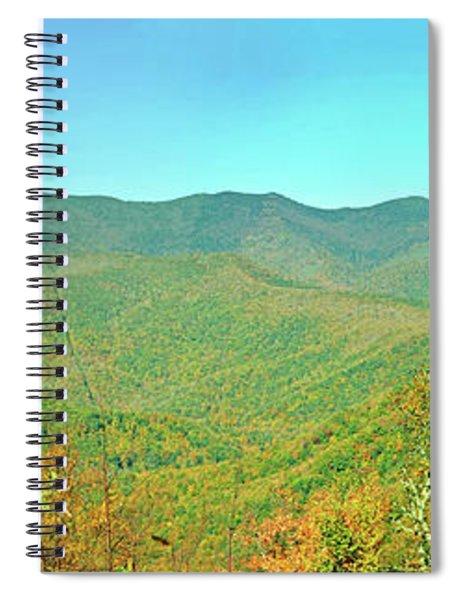 Blue Ridge Parkway Overlook  Spiral Notebook