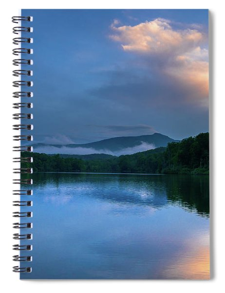 Blue Ridge Parkway - Price Lake - North Carolina Spiral Notebook
