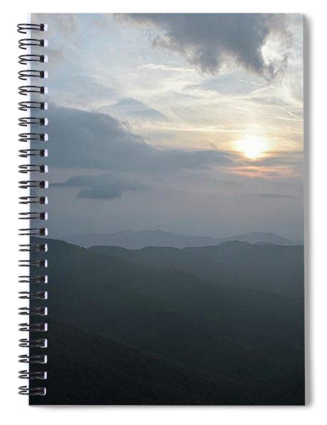 Blue Ridge Parkway Sunset Spiral Notebook