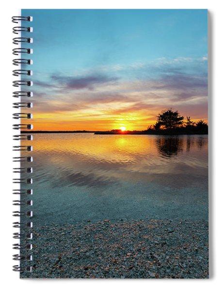 Blue Shimmer  Spiral Notebook
