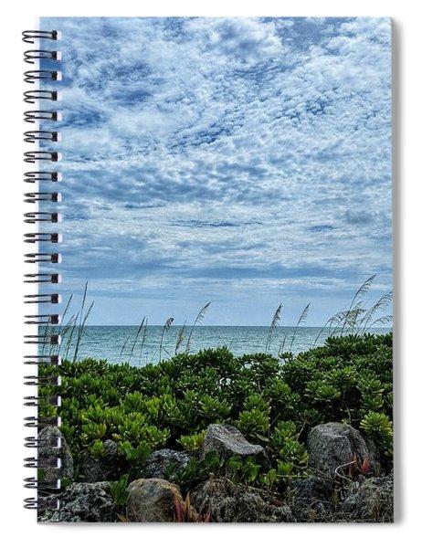 Blue Sky Lullaby Spiral Notebook