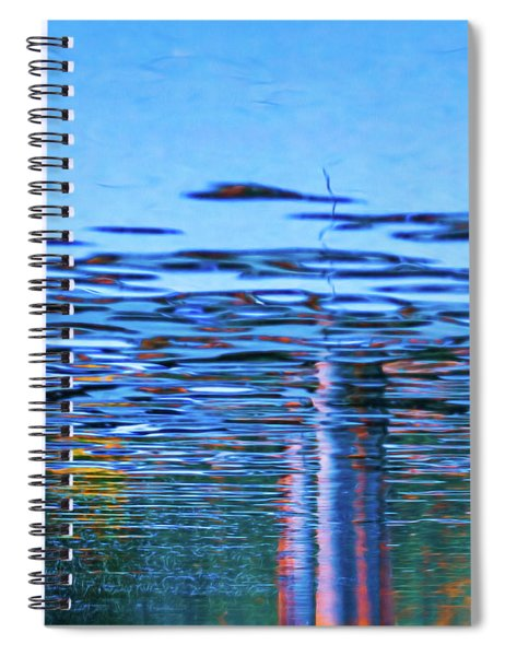 Blue Snake Spiral Notebook