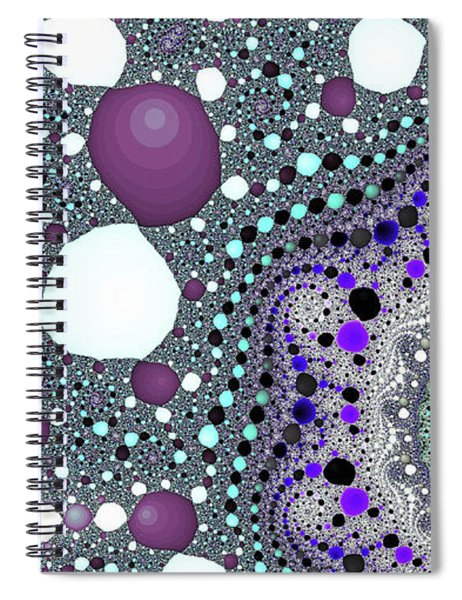 Blue Spiral Lake Fine Art Spiral Notebook