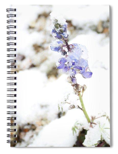 Blue Survivor Spiral Notebook