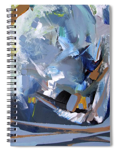 Blue Tweak Spiral Notebook