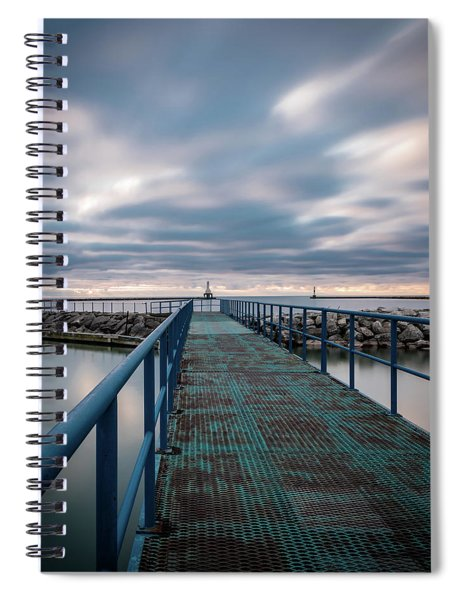 Blue Walk Spiral Notebook