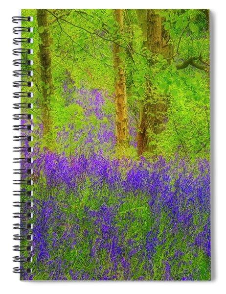 Bluebell Art Spiral Notebook