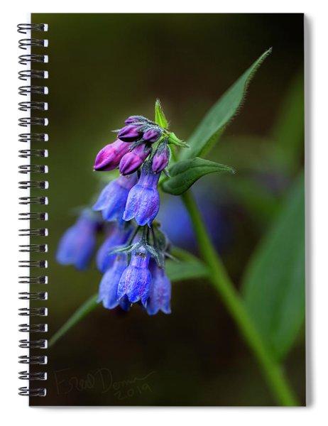 Bluebells 2019 Spiral Notebook