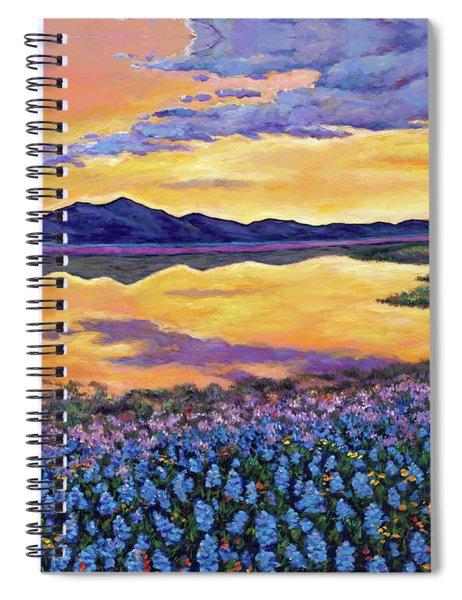 Bluebonnet Rhapsody Spiral Notebook