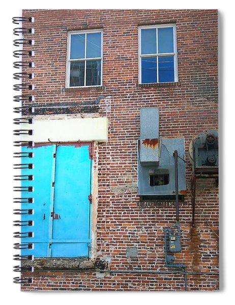 Blueish Spiral Notebook