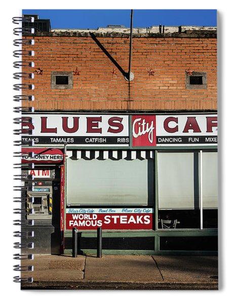 Blues City Cafe Spiral Notebook