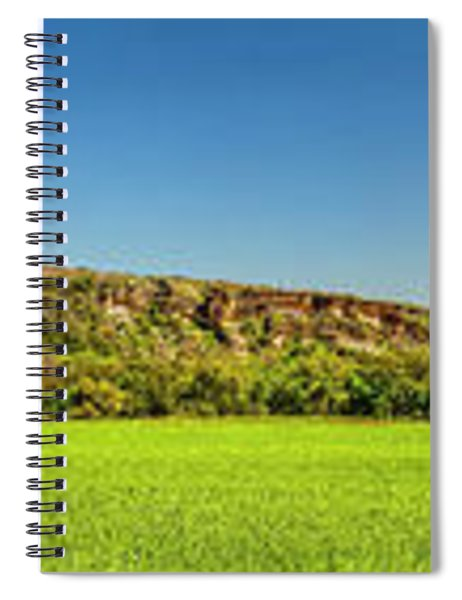 Bluffs At Sandy Creek Panorama 2016 Spiral Notebook