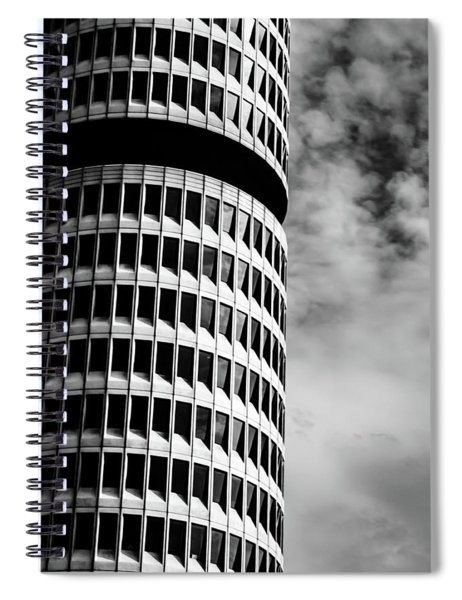 Bmw Vierzylinder Spiral Notebook