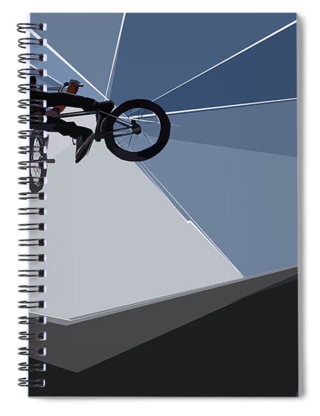 Bmx Biking  Spiral Notebook