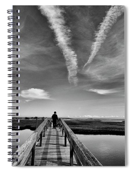 Boardwalk Boogie Spiral Notebook
