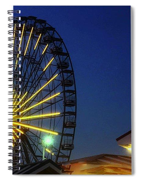 Boardwalk Broadside Spiral Notebook by Rick Locke