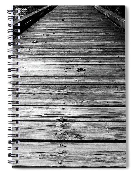 Boardwalk  Spiral Notebook by Doug Camara