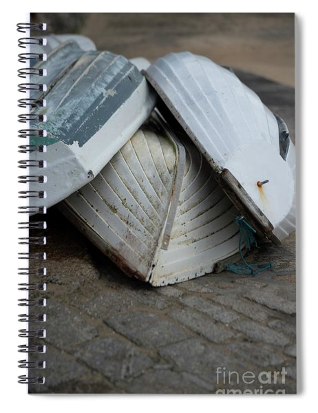 Boats St Ives Spiral Notebook