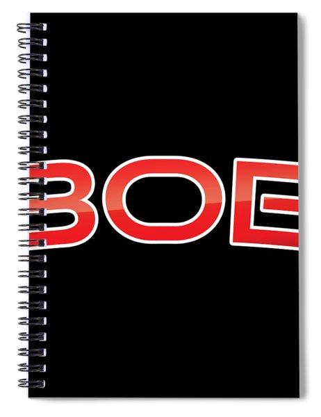 Bob Spiral Notebook