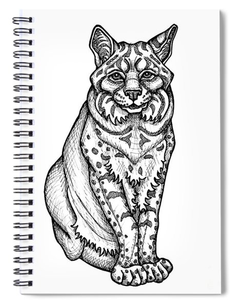 Bobcat Spiral Notebook