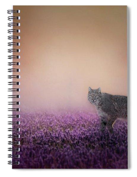 Bobcat Dreams Spiral Notebook