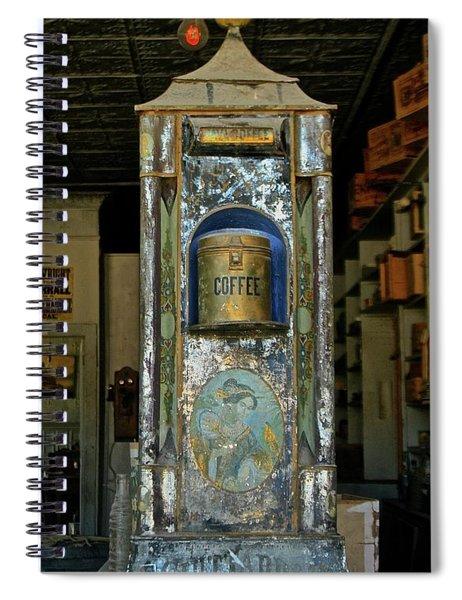 Bodie Coffee Urn Spiral Notebook