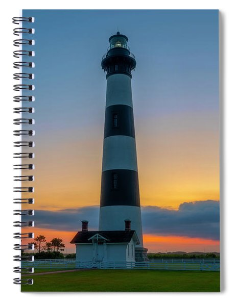 Bodie Island Lighthouse, Hatteras, Outer Bank Spiral Notebook