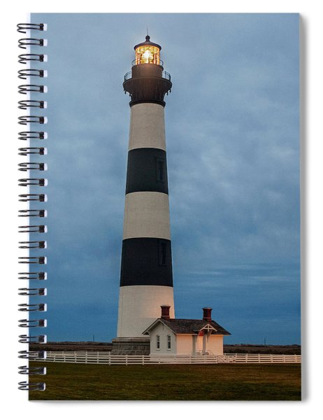 Bodie Island Lighthouse  Spiral Notebook