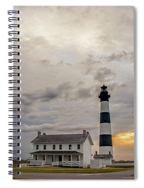 Bodie Island Lighthouse No. 2 Spiral Notebook