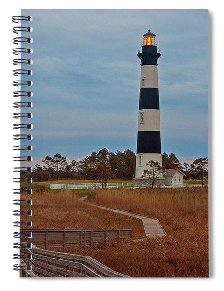 Bodie Island Lighthouse No. 4 Spiral Notebook