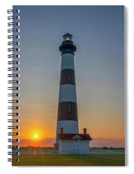 Bodie Island, Sunrise, Obx Spiral Notebook