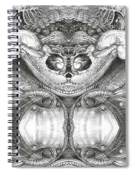 Bogomil Variation 4 Spiral Notebook