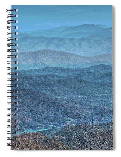 Bold Mountains Spiral Notebook