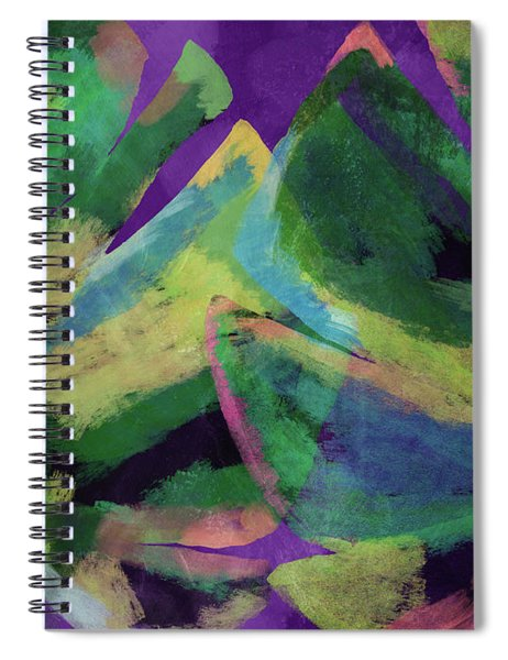 Bold Tropical Dreams- Art By Linda Woods Spiral Notebook
