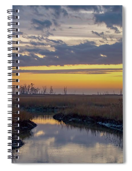Bombay Hook Dawn's Early Light Spiral Notebook