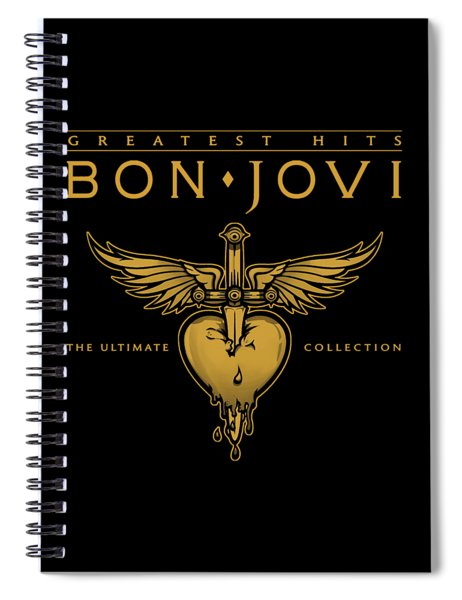 Bon Jovi Spiral Notebook