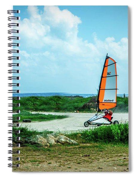 Bonaire Land Sailor  Spiral Notebook