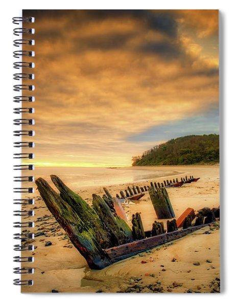 Bones, Ada K. Damon  Spiral Notebook