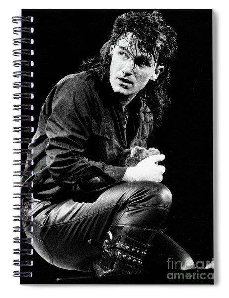 Bono 1984 Spiral Notebook
