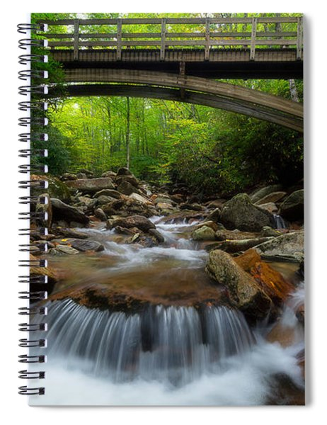 Boone Fork Bridge - Blue Ridge Parkway - North Carolina Spiral Notebook