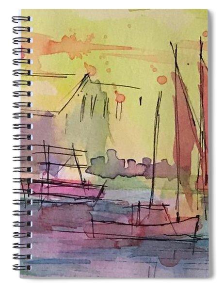 Boothbay 1 Spiral Notebook