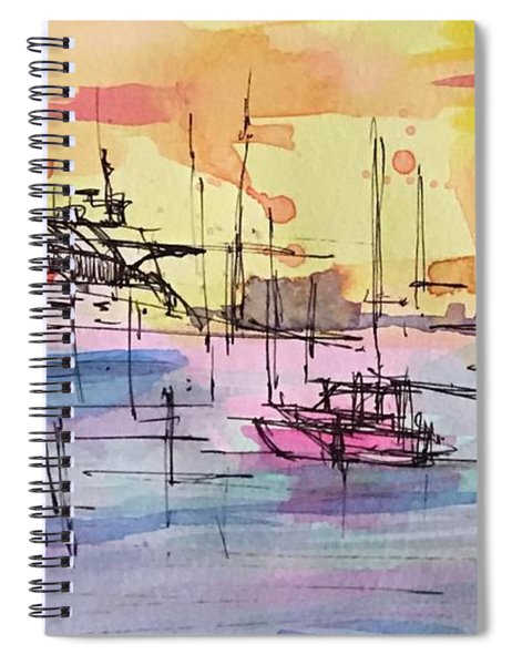 Boothbay 2  Spiral Notebook