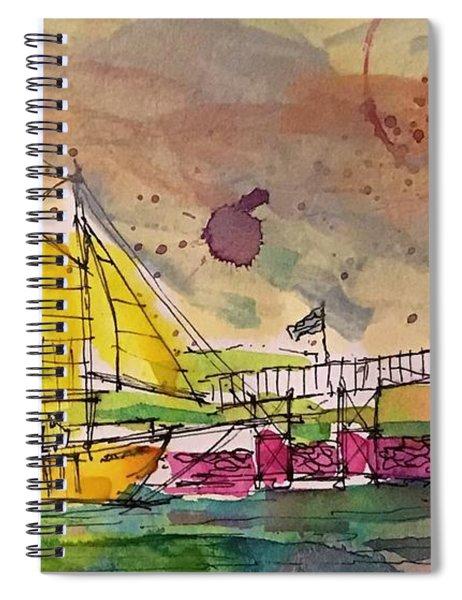 Boothbay 4 Spiral Notebook