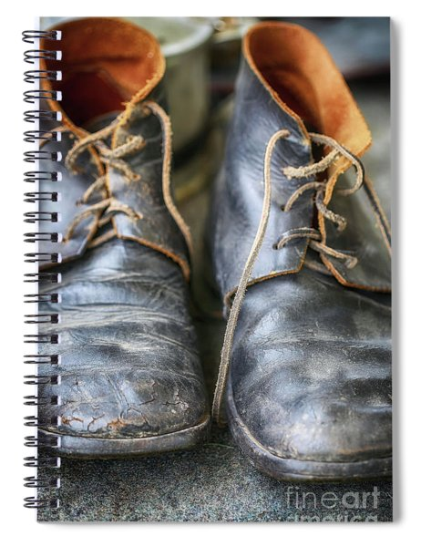 Boots Of Company H Spiral Notebook
