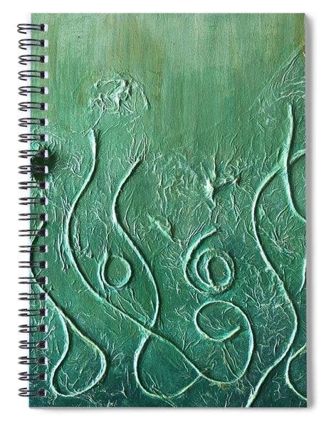 Botanical Maze Spiral Notebook