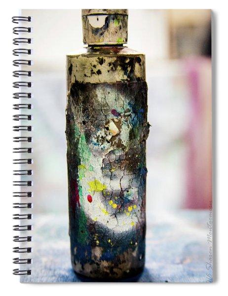 Bottle Spiral Notebook